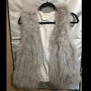 Club Monaco fur vest